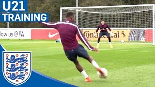 Berahino Incredible Strike - Eng U21 Shooting Practice | Inside Training