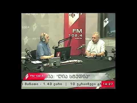 DCFTA Project Manager Zaal Anjaparidze Live On Public Broadcaster IPIN