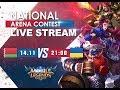BELARUS - UKRAINE LIVE   ПРЯМАЯ ТРАНСЛЯЦИЯ Международной Арены. 14.11.2017 Mobile Legends: Bang Bang