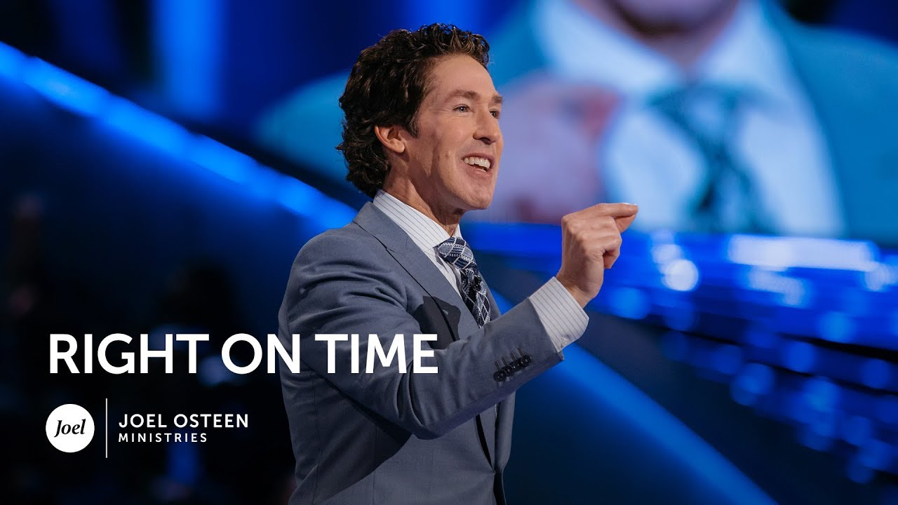 Download Joel Osteen - Right On Time