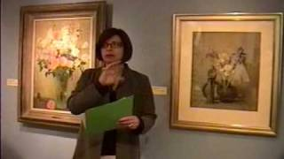 Fresno Met Museum - Anna Richards Brewster curator tour with Judith Maxwell - Part 6 of 9