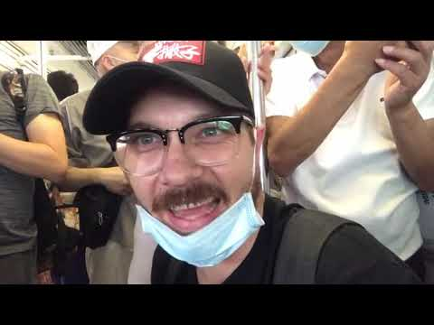 CHONGQING Monorail Passing Through a BUILDING