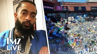 Victim Shot in Nipsey Hussle Murder Arrested For His Gang Ties to Nipsey | TMZ Live