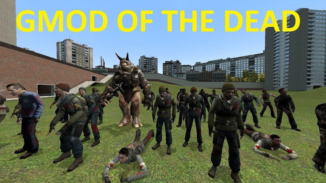 GMOD OF THE DEAD NPC'S + MORE