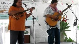"Ledward Kaapana  & Rhoda Kekona - ""Kalapana Hawai'i"""