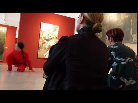 Danza al Museo Revoltella 01 - Trieste 04.03.2017