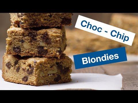 �� How To Make Chocolate Chip Pecan Blondies