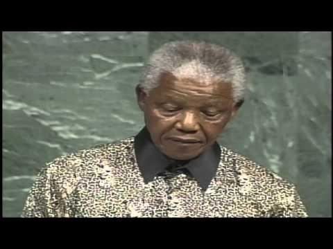President Mandela at the United Nations