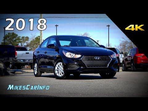 2018 Hyundai Accent SEL - Ultimate In-Depth Look in 4K