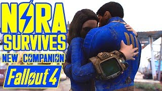 Fallout 4 - NORA SURVIVES - Finding Nora Quest Meeting Codsworth Together - Amazing Xbox PC Mod