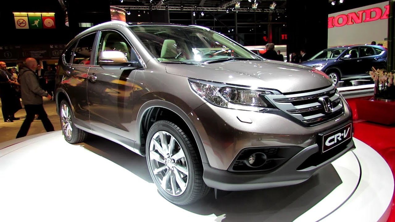 2013 honda crv exclusive navi exterior and interior walkaround 2012 paris auto show youtube. Black Bedroom Furniture Sets. Home Design Ideas
