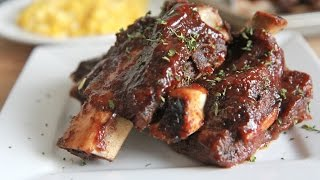 Oven Baked Bbq Beef Ribs Recipe