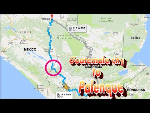 Border problems between Guatemala and Mexico - Probleme la granita - ep26 - Travel calatorii vlog