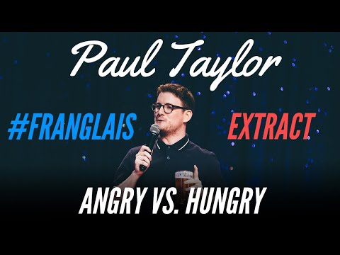 MY WIFE AND THE ENGLISH LANGUAGE - #FRANGLAIS - PAUL TAYLOR