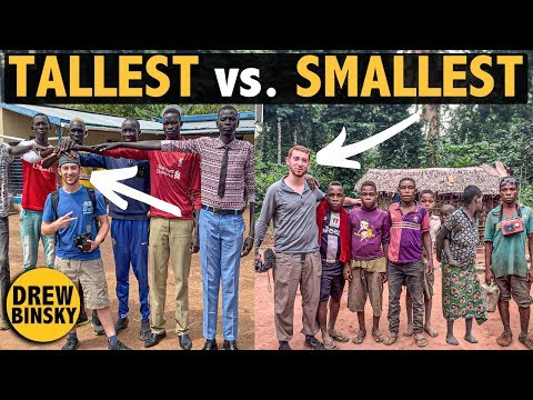 World's Tallest & Smallest African People Are Neighbors