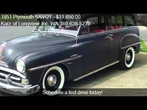 1951 plymouth savoy 2 door wagon hot rod for sale in for 1951 plymouth 2 door