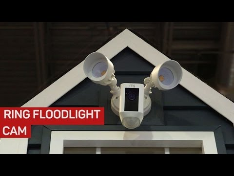 Ring Floodlight Security Cam