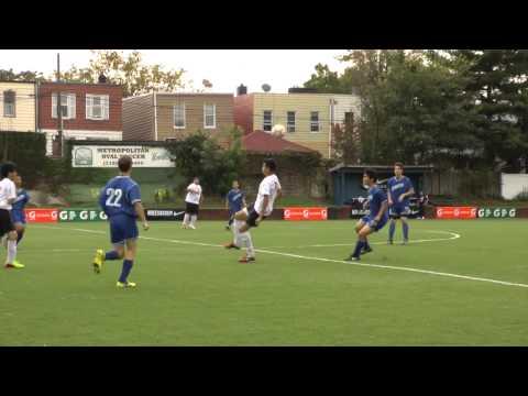 Martin Luther School Cougar's senior Steven Fonseca soccer highlights Maspeth, NY