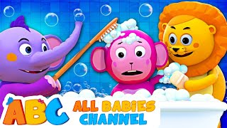 Baby Bath Time   Bath Song   Kids Songs and Nursery Rhymes   All Babies Channel