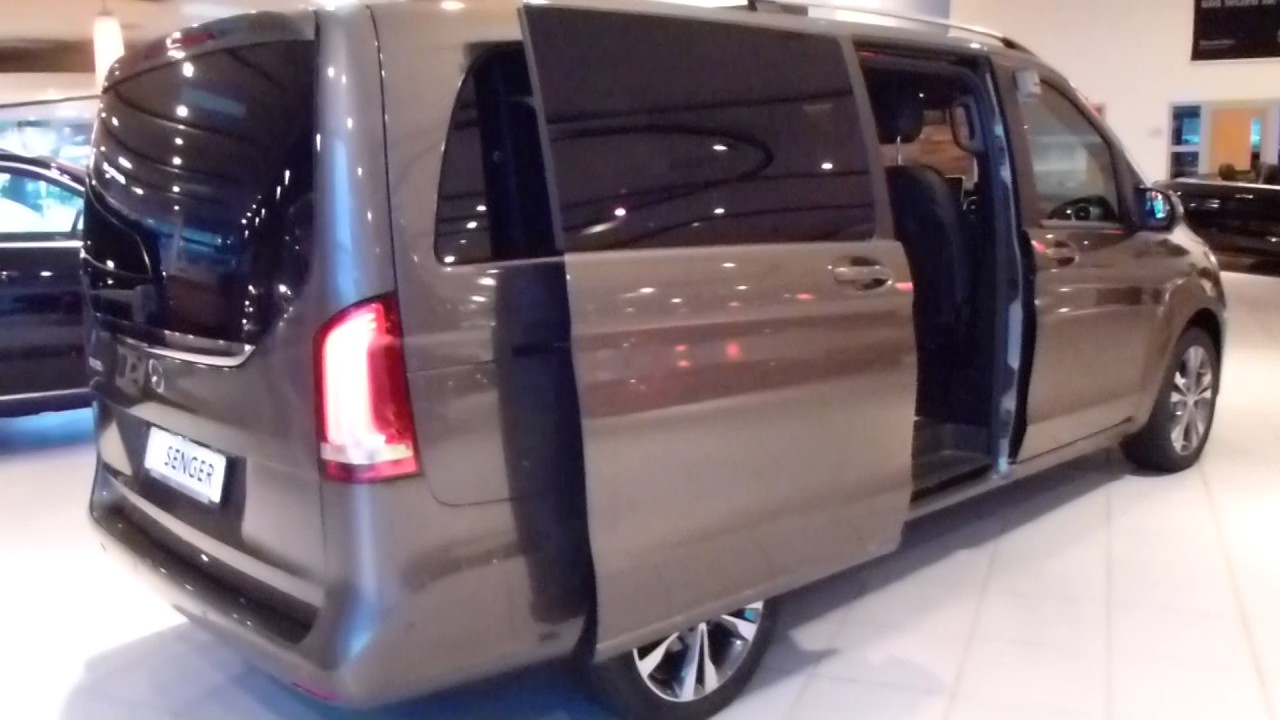 2017 mercedes v 250d exterior interior 190 hp 206 km h. Black Bedroom Furniture Sets. Home Design Ideas