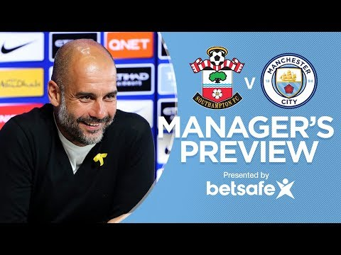 I'LL GIVE A PLAYER MY MEDAL | Pep Guardiola Southampton Press Conference Part 1