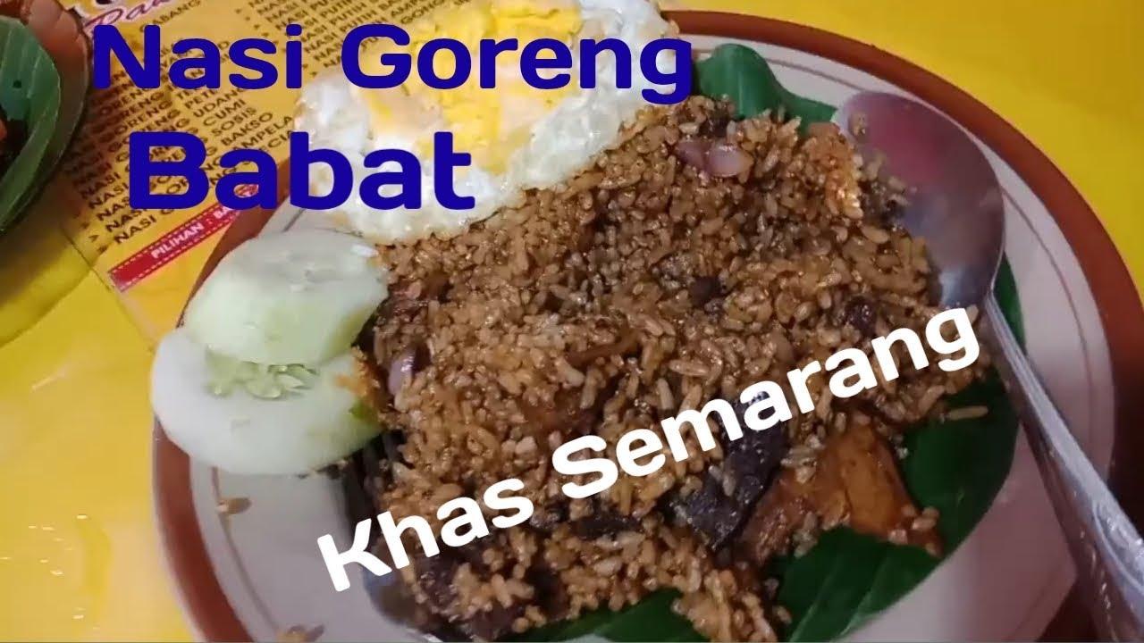 Nasi Goreng Babat Pak Karmin Enakkk Bangettt Kuliner Semarang 7