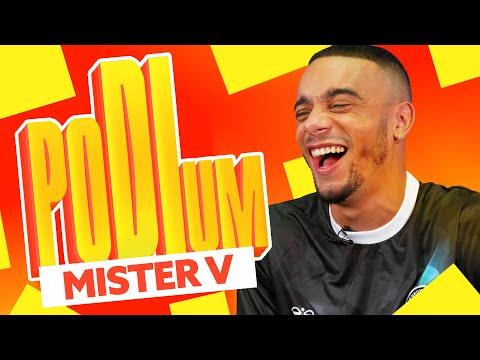 Youtube: Mister V: Top 3 des youtubeurs, rappeurs français, basketteurs   Podium