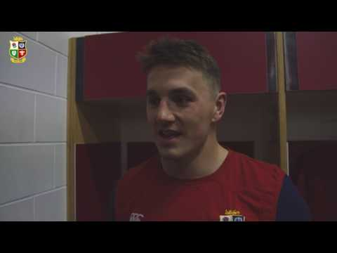 Jonathan Davies on being named The Standard Life Investments Lions' Lion of the Tour | Lions NZ 2017