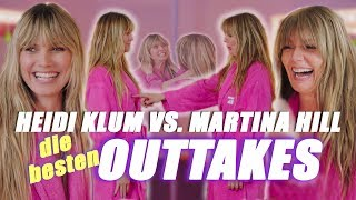 Heidi Klum vs. Martina Hill die besten Outtakes
