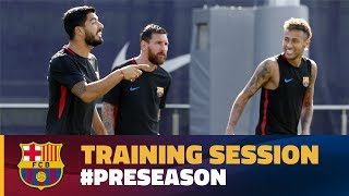 And so begins another week at fc barcelona, busy schedule of training sessions under new manager ernesto valverde. but this is very much a w...