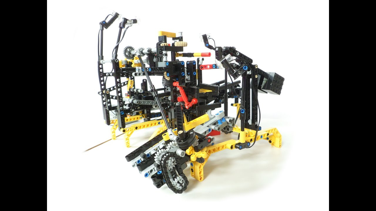 the great lego technic brick factory youtube. Black Bedroom Furniture Sets. Home Design Ideas