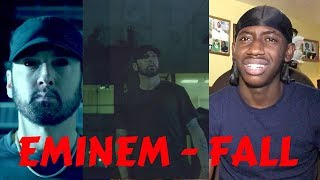 Will The OLD SLIM SHADY Come BACK?! | Eminem - Fall ( Official Video) (KAMIKAZE) | Reaction