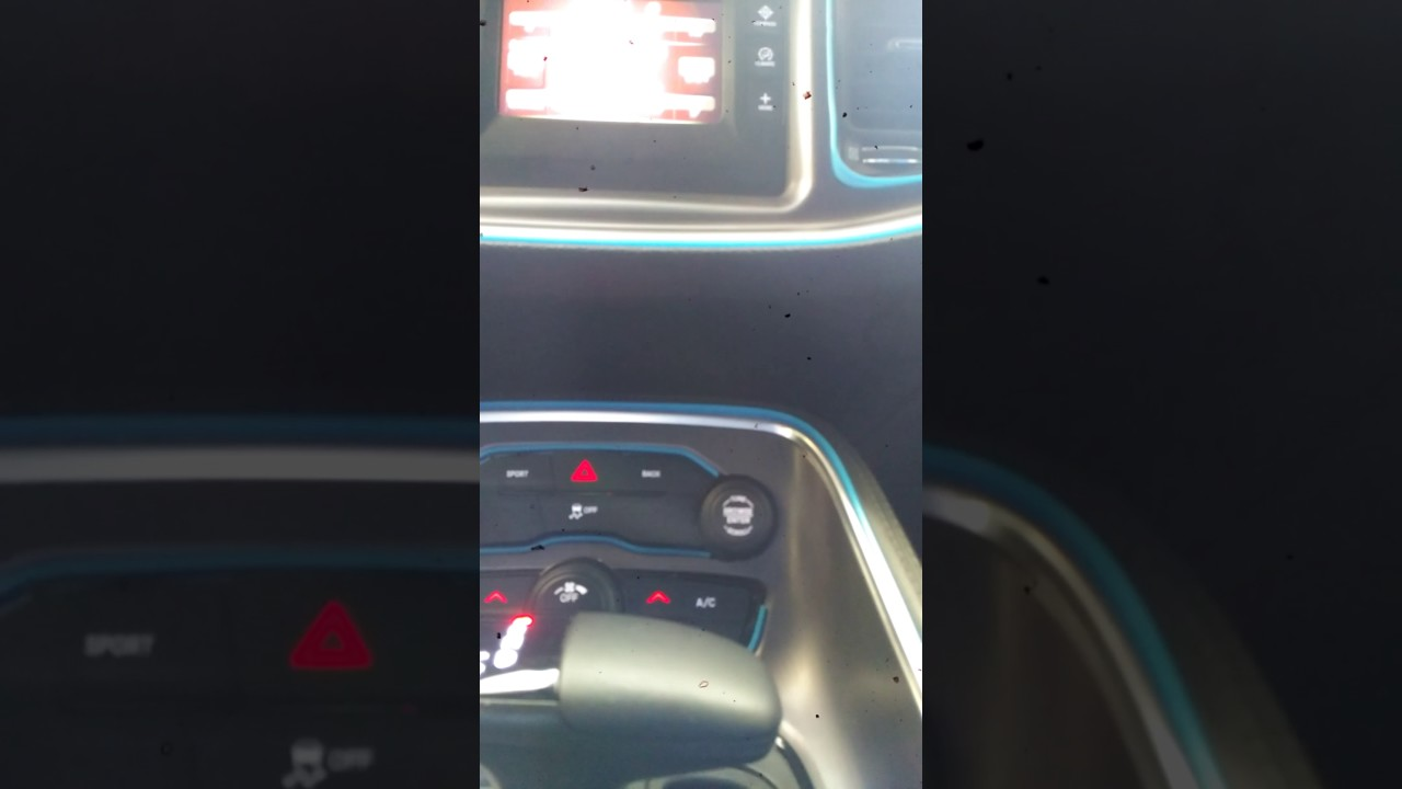 Challenger Interior Drone Sound Windows Up And Down Cherry Extreme Exhaust