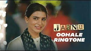 Jaanu OOhale Song Ringtone   Jaanu Full BGM Download