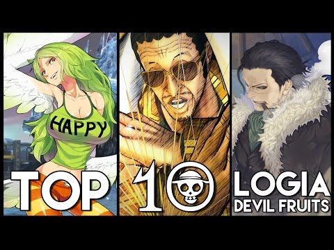 Top 10 Logia Devil Fruits In One Piece