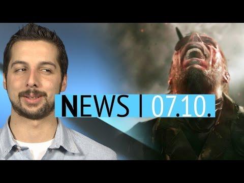 Cyberpunk 2077 viel größer als Witcher 3 - Echtgeld-Versicherung für Metal Gear Solid 5 - News