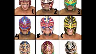 Choose your mask of Rey Mysterio (with music)