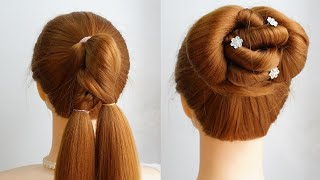 Party Style Hairstyle For Short Hair Shorts