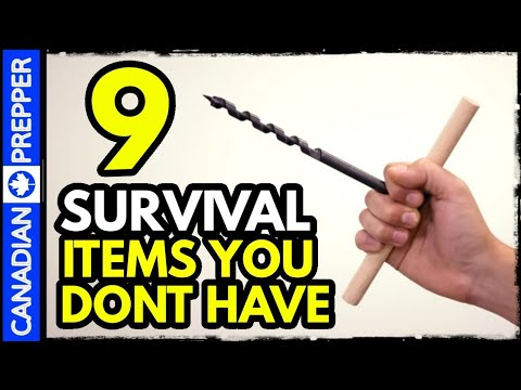 9 Survival Items Everyone Needs But NO ONE Has