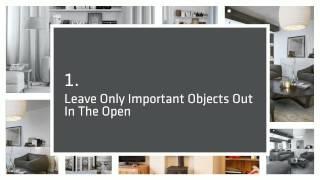 How To Make A Minimalist Home