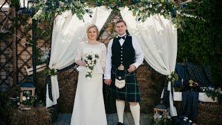 видео Шотландская свадьба