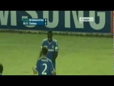 Chelsea vs Bin Indonesia All-Stars All Goals & Highlights 1-8 [25/7/2013] HD