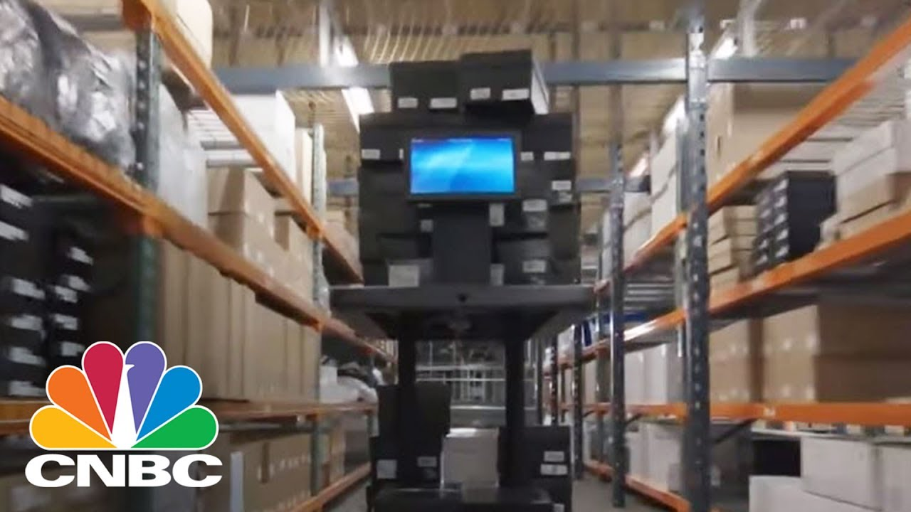 The Team Who Created Amazon's Warehouse Robots Returns With A New Robot  Named Chuck   CNBC
