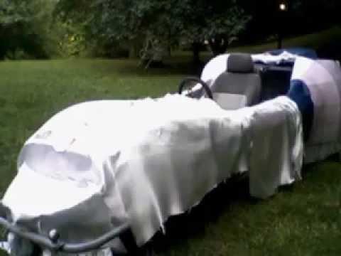 Electric Car Fiberglass Body Build part 2