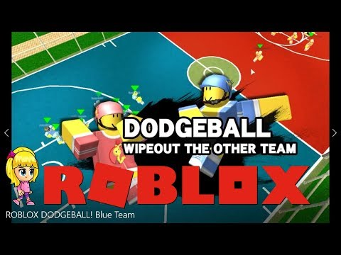 ROBLOX DODGEBALL! Blue Team