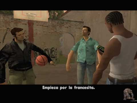 GTA SAN ANDREAS  GRAND THEFT AUTO HEROES INTRO  PLAY BASQUET