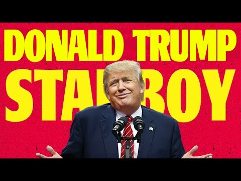 Donald Trump sings The Weeknd's Starboy...