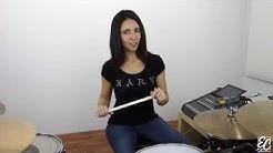 Emmanuelle Caplette: Linear Fills Free Drum Lesson (English 2016)