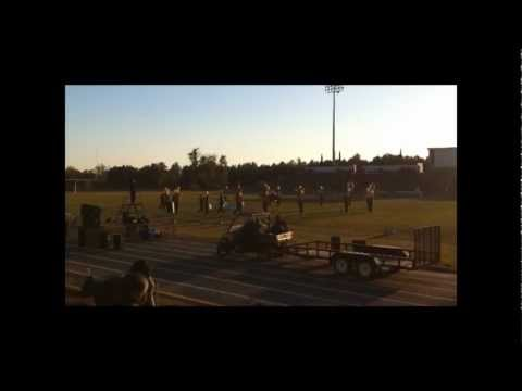 "Crestwood High School ""Battle of the Bands"" - Marlboro County High School Marching Band (HD)"