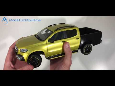Unboxing $290 Diecast Mercedes Benz X-Class Offroad 150 Limited Edition 1/18 Review